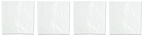 Inteplast Group BLR121206 Ice Bucket Liner, 12 x 12, 3qt.24mil, Clear (Case of 1000) (4-(Pack))