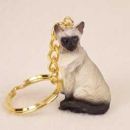 - Siamese Cat Keychain