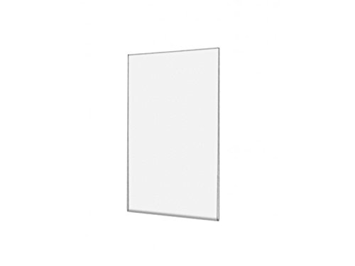 Marketing Holders 4w x 6h Wall Mount Sign Holder Frame NO Holes Horizontal Landscape Clear Acrylic Signs Qty 5
