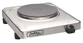 Cadco PCR-1S Professional Cast Iron Range, Stainless (Broil King 1500 Watt Hot Plate compare prices)