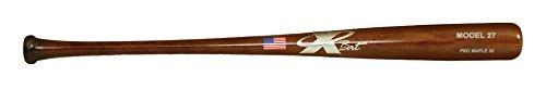 X Bats – Pro Model 27 – Wood Baseball Bat – Maple – Walnut Finish – BBCOR Certified – C271 Equivalent