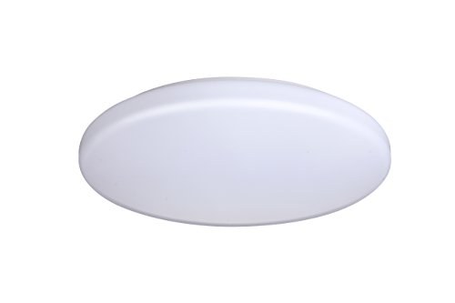 Yeuloum 13 inch LED Flush Mount Ceiling Light Fixture, Dimmable, 1300 Lumen, 17.5W Repalce 125W, ETL/ES Rated