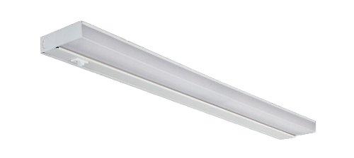 NICOR Lighting 24-Inch Dual 8-Watt T5 Fluorescent Under Cabinet Light, White (10366EB) (Under T5 Fluorescent Cabinet Slim)