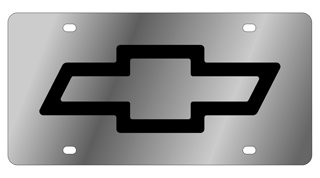chevy bow tie license plate - 4