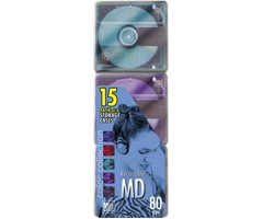 (Sony Multi-Color Recordable Mini Discs)