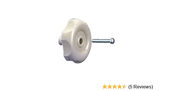 CRL White Knob Style Crank Handle R7005