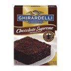 Ghirardelli Brownie Mix Syrup 18.75 OZ (Pack of 24)