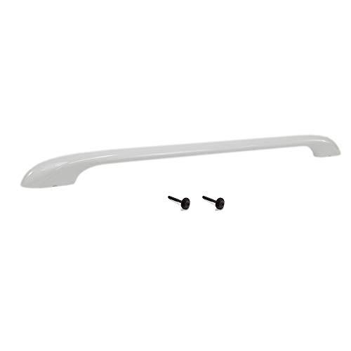 Kenmore 316443601 Range Oven Door Handle and 5304453223 Door Handle Mounting Screw Bundle