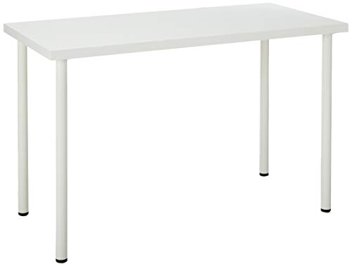 IKEA 499.296.39 Linnmon Desk with Adils Multi Purpose 47 1/4x23 5/8 Table, Top and White Legs