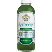 GTs Enlightened Organic Raw Kombucha Multi Green, 16 Ounce -- 12 per case. by GTs Kombucha