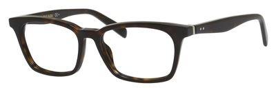 Celine 41345 Eyeglasses 0086 Dark Havana - Celine Prescription Glasses