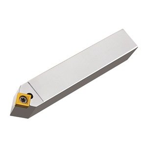 """Micro 100, 10-3314, Indexable 50° Turning & Chamfering Tool, .250"""" Dimension Over Insert, 1/2"""" Square Shank, 3.15"""" Overall Length, CCMT 21.51 Insert Style"""