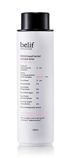 KOREAN-COSMETICS-LG-Household-Health-Care-belif-Witch-Hazel-Herbal-Extract-Toner-200ml-for-dry-skin-moisturizing-nutrition-supply001KR