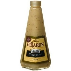 Girard's Dressing, Light Champagne, 12 Ounce (Pack of 6) by Girards