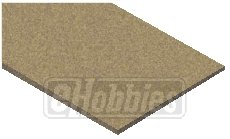 Midwest Products 3020 3mm Railroad Cork N Sheets, 3.25 by 36-Inch