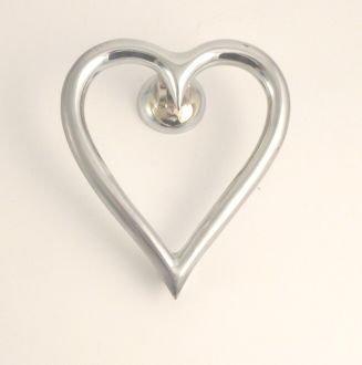Heart Door Knocker Chrome & Heart Door Knocker Chrome - - Amazon.com