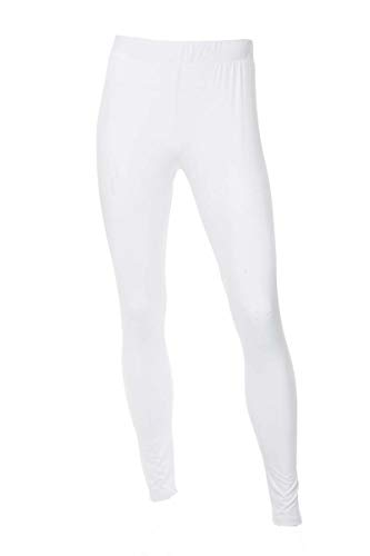 Spandex Knit Pants - Neovic Mens Athleisure Ultra Soft Knit Yoga Pants Base Layer Casual Solid Leggings - White - XL