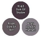 Master Series Paint Triad Dark Elf Skin Tones ()