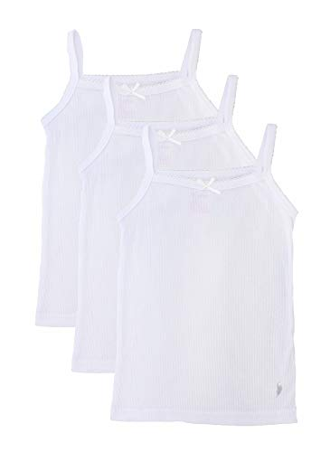 3ca6f2c4949 Feathers Girls Solid White Snug Fit Tagless Cami Vest - 100% Cotton Super  Soft Undershirts (3/Pack). Asin: B07PJLVYJ3. Best Girls Undershirts, Tanks  & ...