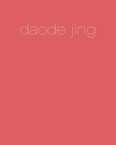 Read Online By Laozi Daode Jing (First Edition) [Paperback] pdf