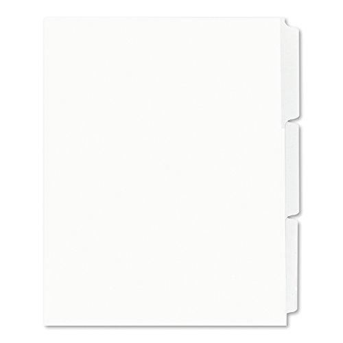 Avery Print & Apply Unpunched Dividers, Index Maker Easy Apply Strip, 3 Printable Tabs, 25 Divider Sets (11442) by Avery (Image #3)