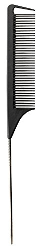 (Fromm Carbon Fine Tooth Pin Tail Comb, 9.25 Inch)