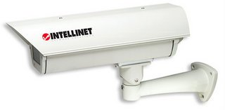 Network Camera Outdoor Enclosure Temperature controlled with Cable Manager Bracket, Intellinet 176224