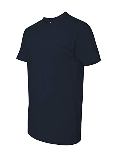 Next Level Mens Premium Fitted Short-Sleeve Crew T-Shirt - X-Large - Midnight Navy ()
