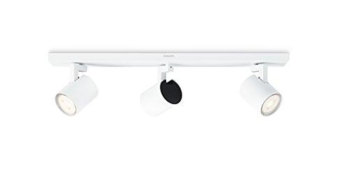 Plafonnier LED Philips myLiving, 3,5W, avec ampoules incluses, Métal, weiß, Integriert 3.5 wattsW 230 voltsV