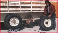 Blaylock American Metal EZ-100 Wheel Lock