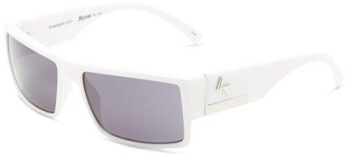Kreed Men's Makin It Big Square Sunglasses,White,57 - Kreed Sunglasses