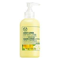 The Body Shop Sweet Lemon Whip Body Lotion, 8.4-Fluid Ounce