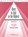 GLORY TO GOD IN THE HIGHEST - Pergolesi - Martha Lynn Thompson - Keyboard - Sheet Music