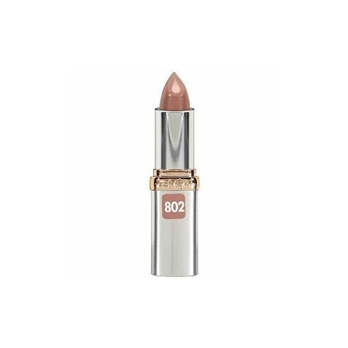 (2 Pack)L'Oreal Paris Colour Riche Anti-Aging Serum Lipcolour, 802 Captivating Copper, 0.13 Ounce by Voronajj
