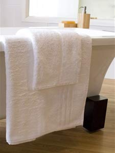 Hotel Quality White Large Bath Sheet Pack Of 2