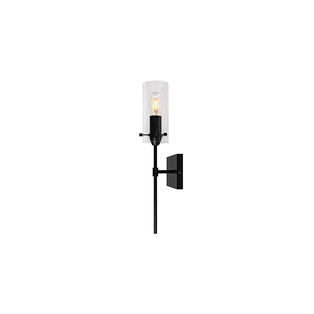 Black Wall Sconce Lighting Farmhouse Bathroom Vanity Light Fixtures Over Mirror, Modern Wall Sconces Lighting Bedroom…