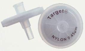 National Scientific Nylon Target Syringe Filter, 5.0µm Pore Size, 30mm Outside Diameter (Case of 100)