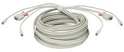 Lindy Premium KVM Combo Cable, 10m (33716)