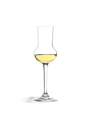 Stolzle Professional Crystal 3 Ounce Grappa Glass, Set of 6