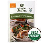 (Simply Organic Vegetarian Brown Gravy, Seasoning Mix, Certified Organic, 1-Ounce Packets (Pack of 12) ( Value Bulk Multi-pack))