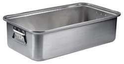 """Vollrath Wear-Ever 17 3/4 qt Aluminum Roasting Pan Bottom - 20"""" L x 11 1/8 W x 5 1/2 H"""