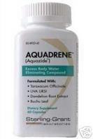Aquadrene puissant diurétique naturel (1) Bouteille 60 Capsules