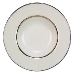 Royal Doulton Platinum Silk - Royal Doulton Platinum Silk 8-inch Rim Soup