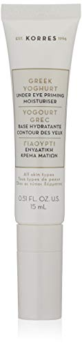 KORRES Greek Yoghurt Under Eye Priming Moisturiser, 0.51 fl.oz 15ml