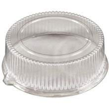 - PartiPak PETE Round Everyday Fluted Dome Lid Tray, 12 inch - 50 per case.