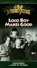 THE THREE STOOGES [3 episodes] ~ Loco Boy Makes Good (1942) / Matri-Phony (1942) / Saved by the Belle (1939) [VHS]