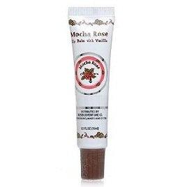 Rosebud Perfume Company Mocha Rose Lip Balm Tube, 0.5 oz (Lip Vanilla Balm Rose)