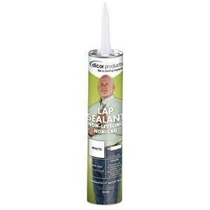 Dicor 505LSW1 White Haps-Free Lap Sealant (Quantity 6)
