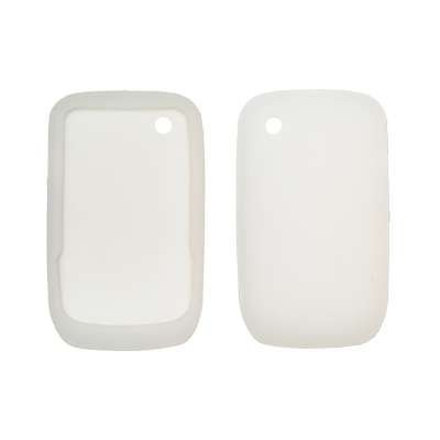 Clear Soft Silicone Gel Skin Cover Case for BlackBerry Curve 8520 [Accessory Export Brand] (Blackberry 8520 Curve Cover)