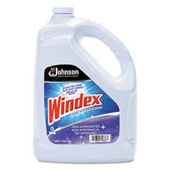 Non-Ammoniated Multi-Surface Cleaner, 1 Gallon Bottle, 4 Bottles, Lot of 1 by Windex (Image #1)